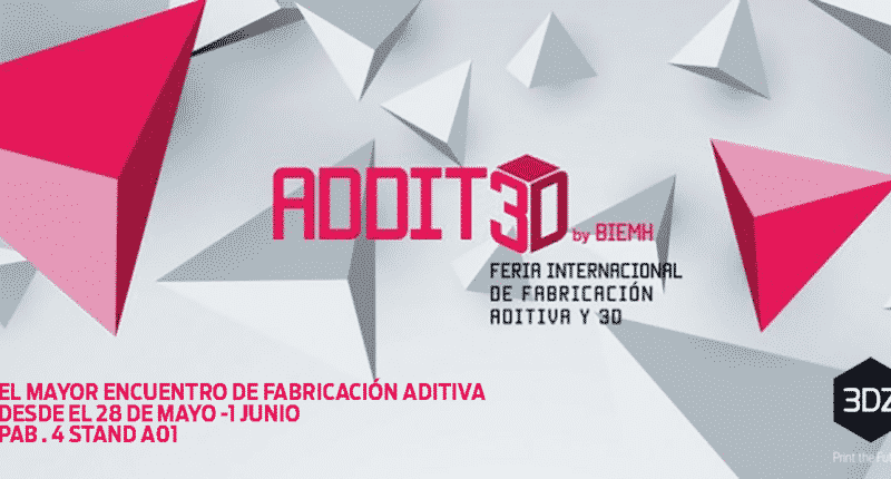 3DZ expone en Addit3D