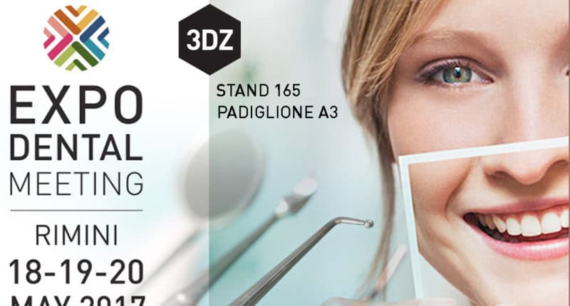 3DZ espone all' Expodental Rimini 2017