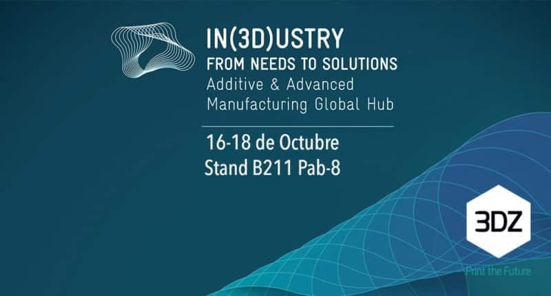 3DZ estará presente en IN(3D)USTRY