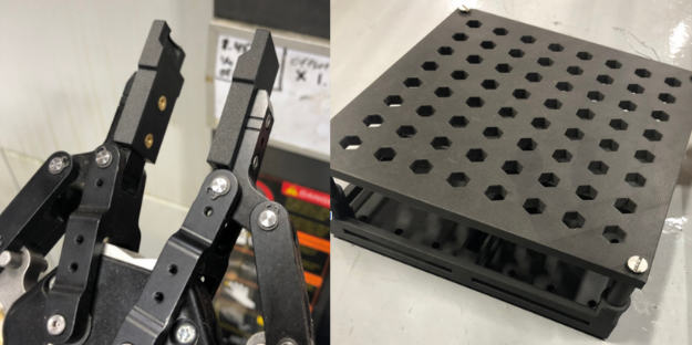 grippers y subplates Markforged